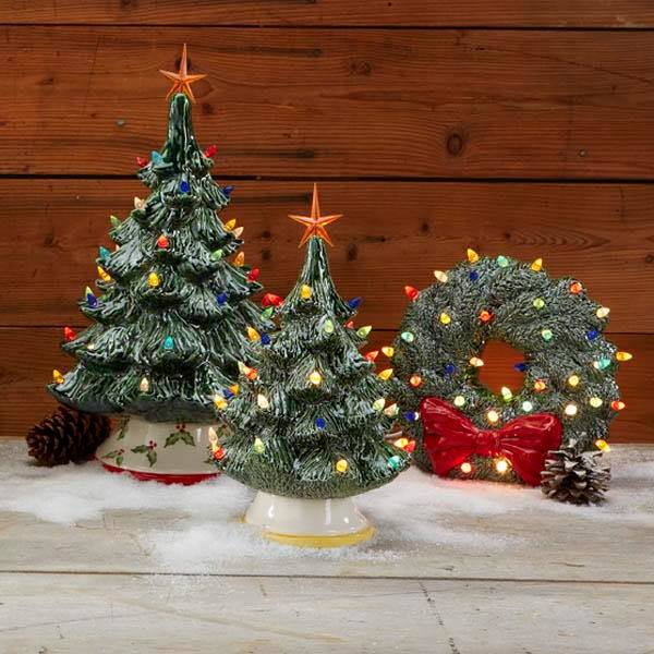 Paint Your Own Vintage Ceramic Christmas Tree
